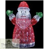 Acrylic Santa Christmas Decoration