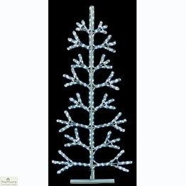 Twinkling Rope Light Christmas Tree