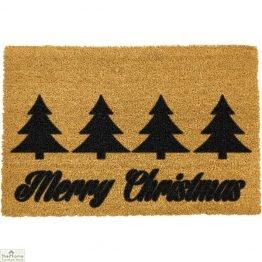 Merry Christmas Greeting Doormat