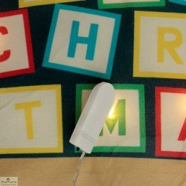Elf LED Light Christmas Cushion_1